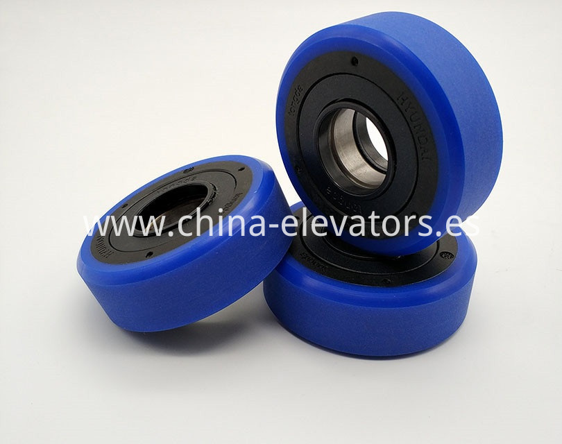 Step Roller for Hyundai Outdoor Escalators 76*25*6204