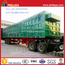 3 Axles Coal Transport Side Dump Semi Truck Trailer (60/100T)