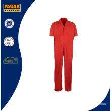 Guardapolvos de verano 2016 rojo de una pieza trabajo barato ropa para hombres