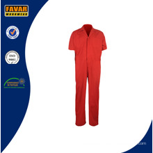 2016 Red One Piece Cheap Work Clothes Summer Coveralls for Men