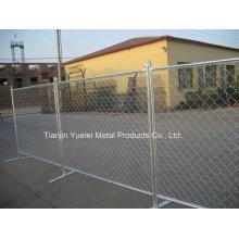 Panneau de clôture amovible temporaire / Panneaux de clôtures de sécurité métalliques résidentiels / panneau de clôture temporaire de Canada