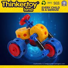 Детские пластмассовые мини-строительные блоки Игрушки строительные блоки
