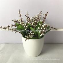 2017 mini bonsai de plantas artificiales para la decoración del hogar