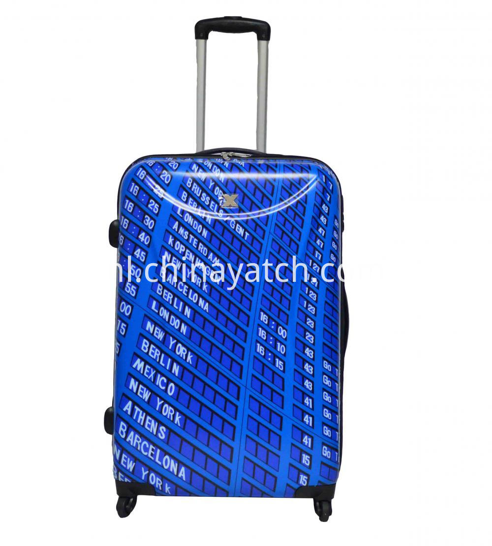 100%PC Printing Trolley Case