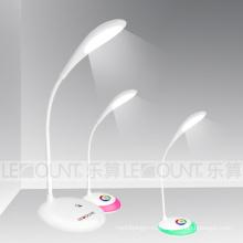 Сенсорная аккумуляторная светодиодная настольная лампа с живыми цветами (LTB716)