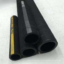 Hochdruck-EPDM-Gummi-Segeltuch verstärkte Luft / Wasserschlauch 20 Bar