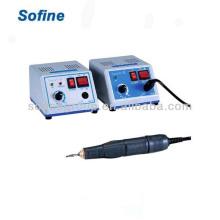 Unidade de micro motor elétrico dental com CE e ISO, Grinder dental / Micro Motor