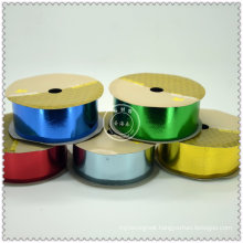 Maunfacture Colorful Plastic Iridescent Ribbon Roll, Plastic Ribbon Rolls