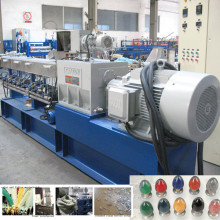 nanjing kaiyou 300-800kg/h twin screw extruder plastic scrap granule machine for PP PET PE ABS