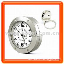 Boust Stainless Steel Desk Clock Camera Mini DVR (BST-SR520)