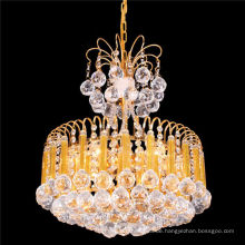 Classical small size led crystal chandelier vintage pendant light LT-72073