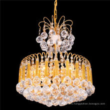 Классический небольшой размер светодиодный кристалл винтажный кулон люстра свет ЛТ-72073