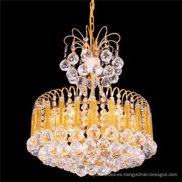 Clásica pequeña lámpara de cristal colgante de araña de época led LT-72073