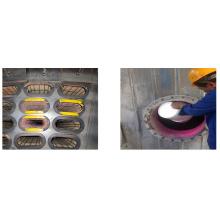 Photolumineszierendes Pigmentpulver für Filtertasche Inspektion