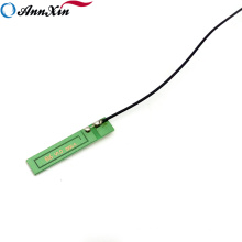 Venda quente Lowe Preço 0dBi GSM Antena Interna Com Cabo Ipex 0.1 m