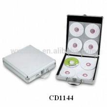alta calidad CD 120 discos aluminio lindo CD caso de ventas por mayor de China fabricante