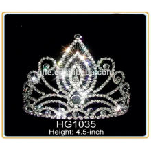 Crown bag crown costume jewelry rhinestone star tiaras crowns pearl bridal tiara