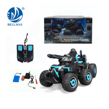 Ventas al por mayor 6 ruedas Military Fight RC Car (versión recargable) B / O Transformation Tank