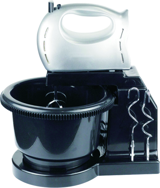 Stand Mixer With Plastic Rotary Bowl