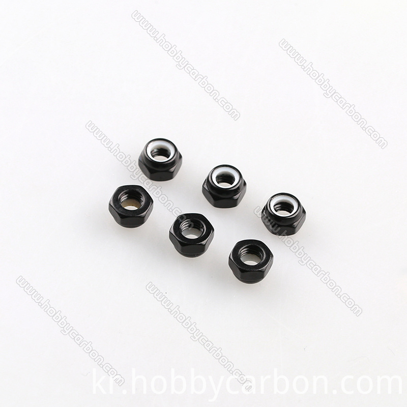 M3 aluminu lock nuts