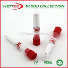 Tubos de extracción de sangre sin vacío de HENSO