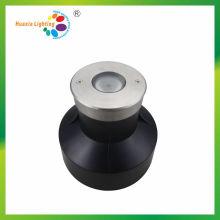 Lumière sous-marine enterrée de l'acier inoxydable IP67 / IP68 de 3W