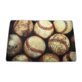 Washable balls design doormat