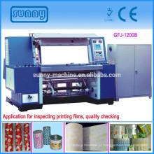 Máquina de inspeção de alta velocidade para todos os tipos de filme de impressão