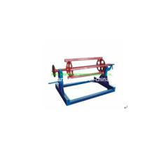 Colorida aço Decoiler para formar a máquina de fazer