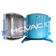 Máquina de metalização reflexiva plástica do vácuo do copo / máquina de revestimento de alumínio do refletor PVD