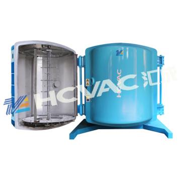 Máquina plástica del vacío de la metalización del ABS / máquina plástica de la capa del PVD del ABS