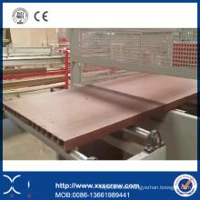 Tablero de la espuma del PVC de WPC que hace la máquina