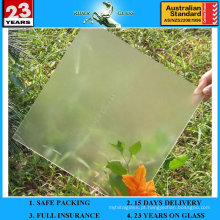 Vidro solar texturizado ultra-claro de 3,2-4 mm com AS / NZS2208: 1996
