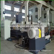 CE high capacity plastic carbon black pellet making machine