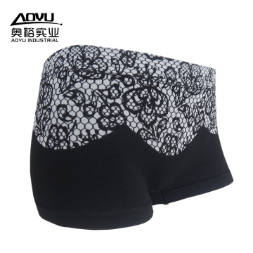 Calcinhas Mulheres Lace Boxer Shorts Mulheres Underwear