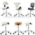 2018 NEW sale Leather Dynamic SADDLE STYLE SPLIT SEAT ERGONOMIC SADDLE CHAIR STOOL