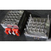 Heißkanal-gerades Rohr-Plastikspritzen PP 16cavity