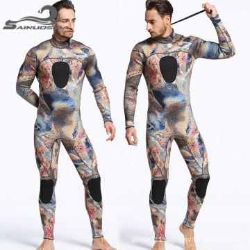 7mm neoprene fabric diving suit