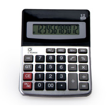 12 Digit Office Desktop Calculator with Alum Coating