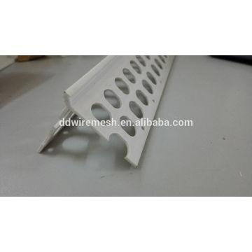 China-Lieferant weißer heißer Verkaufsputz-Eckkorn / PVC-Eckkorn / PVC-Plastikeckekorn für Gebäude