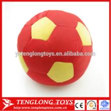 Футбольный мяч с плюшевым мясом