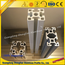 Profil en aluminium industriel en aluminium de fente de profil T pour assembler la ligne