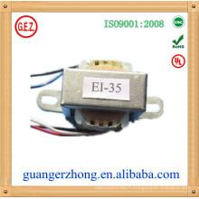 EI-35 CQC Certificat 6V 500mA transformateur de tension