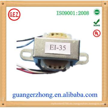 Transformador de voltaje EI-35 CQC Certificado 6V 500mA