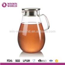 Perfect Hot Product Clear Infusion Tea Pitcher Large