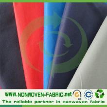 Matérias primas não tecidas de matéria têxtil da tela dos PP