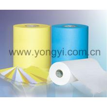 Papier siliconé pour matériel d'étiquettes auto-adhésives