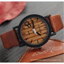 Yxl-857 Relojes Hombre 2016 Simulation Wooden Watch Quartz Men Watches Vintage Leahter Casual Wood Male Wristwatch Relogio Masculino