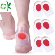 Almohadillas de silicona para talones para el dolor en el talón