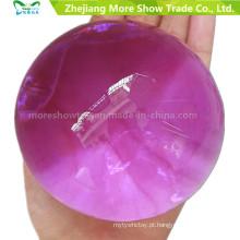 Forma de Pérola roxa Grande Lama de Solo De Cristal Macio Crianças Brinquedo Crescer Bolas de Água Planta Cultivar a Decoração Para Casa